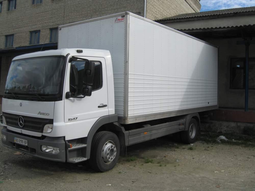Заказать Грузовые перевозки 10т автомашиной Мерседес(цельномет) по Украине