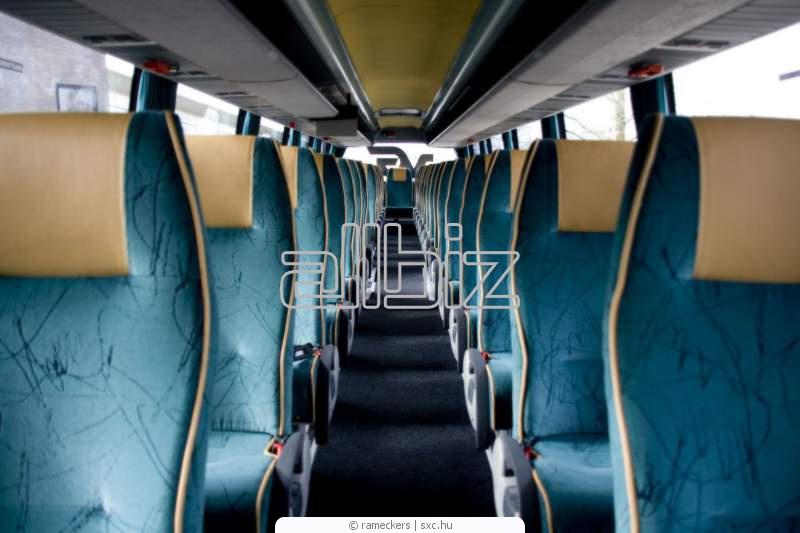 Заказать Перетяжка салона автобуса Бердичев