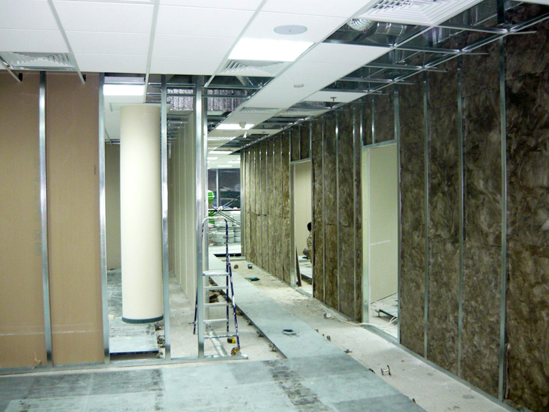 Order Installation of plasterboard designs
