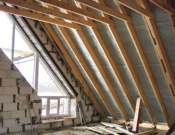 Order Mounting of roof