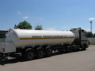 Заказать Продажа, доставка, транспортирование аммиака Украина