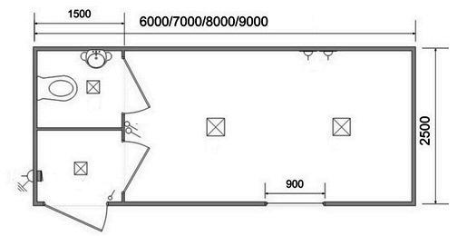 Заказать Типовые проекты блок-модульных зданий.