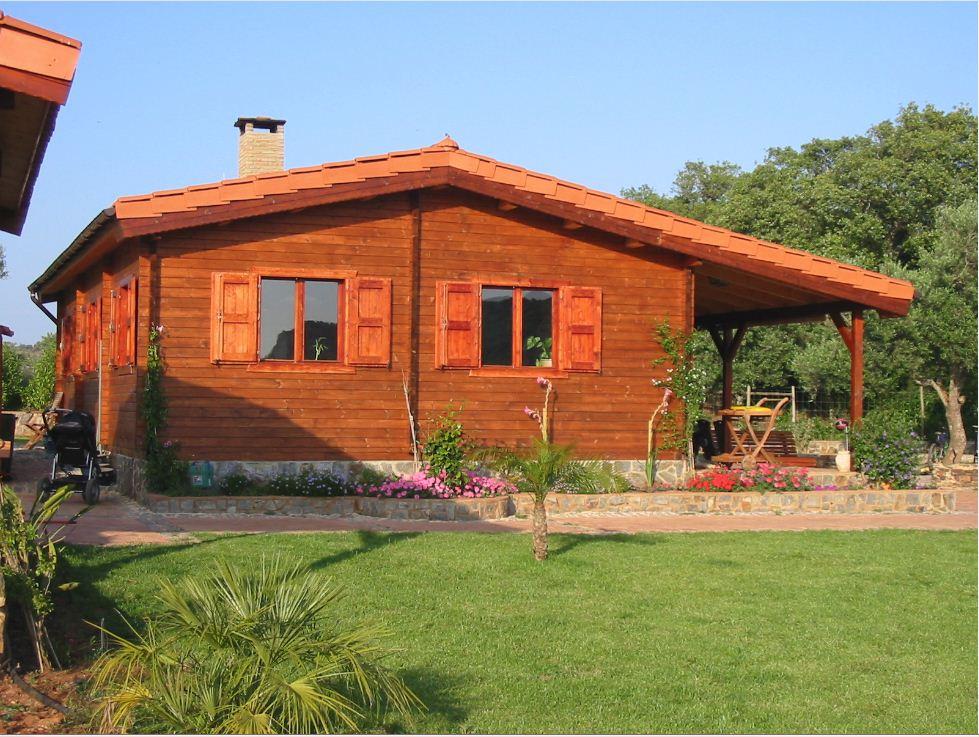 Заказать Строительство домов из дерева, смерека, Украина