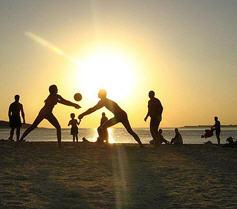 Заказать Аренда спортивных площадок для бадминтона, волейбола, футбольное поле
