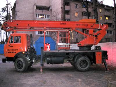 Заказать Ареда автовышки 28 метров