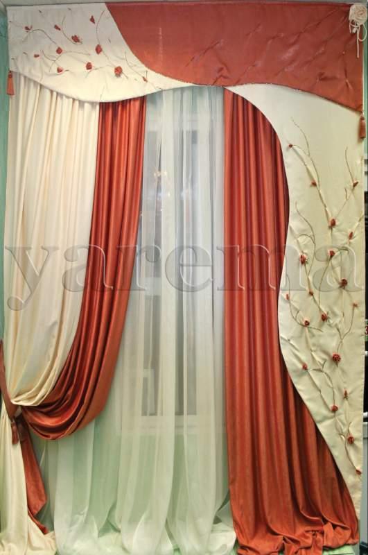 Пошив штор в киеве дизайн штор ярема