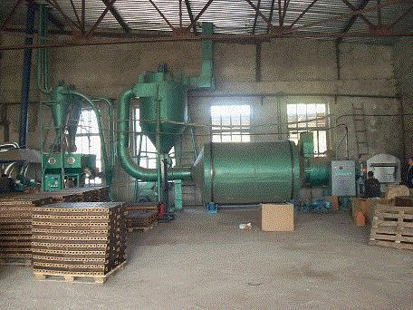 Order Installation and commissioning of lines of briquetting