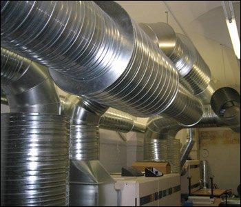 Order Installation of ventilating systems