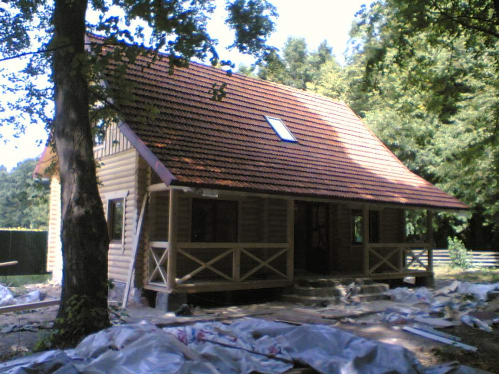 Заказать Установка деревянных домов