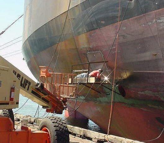 Заказать Антикоррозионная защита подводных металлоконструкций
