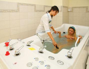 """Заказать Водолечение, минеральные ванны в санатории """"Карпатия"""""""