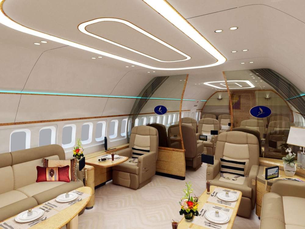 Авиалайнер Boeing Business Jet