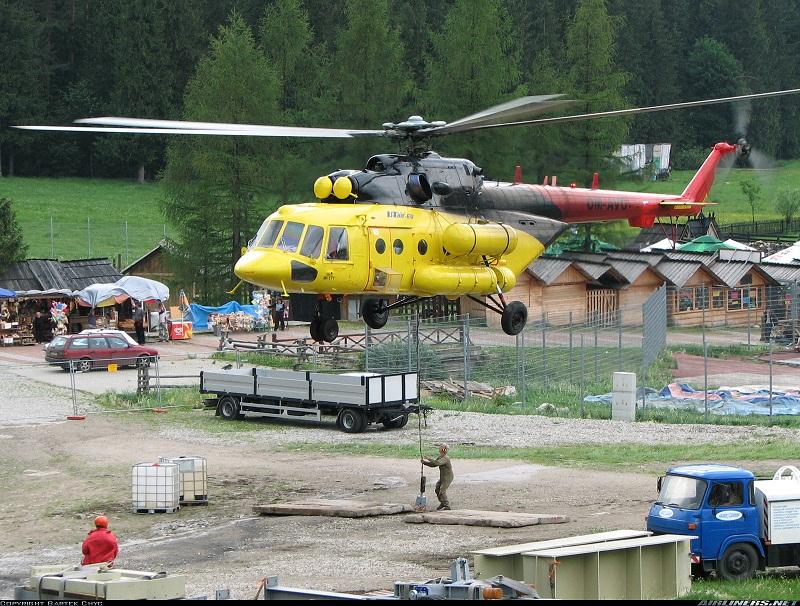 Монтаж на внешней подвеске на вертолетах