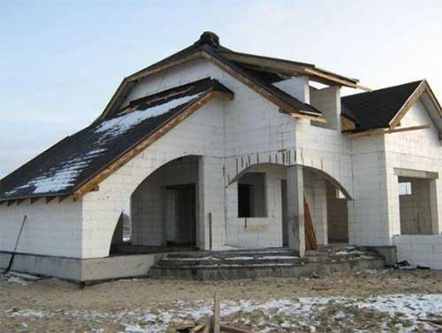 Заказать Строительство домов из термоблоков