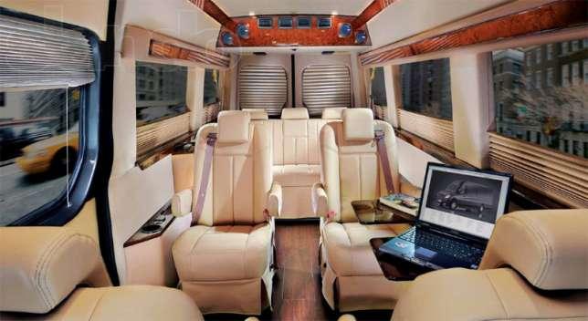 Заказать Переоборудование микроавтобусов в пассажирские, создание офисов на колесах