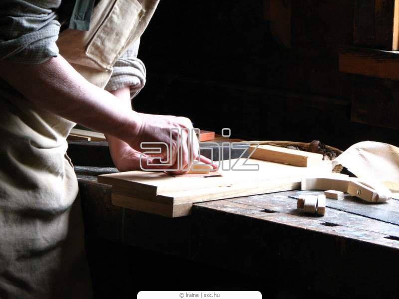 Заказать Изготовление комплектующих для мебельного производства из натуральной древесины.