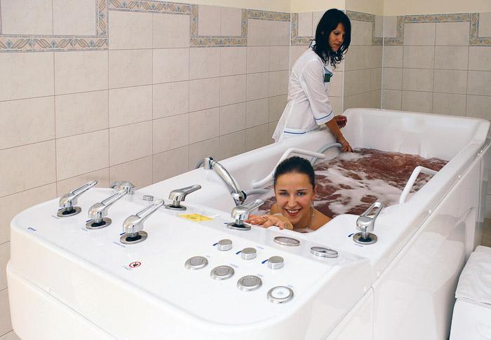 """Заказать Лечебные ванны в санатории """"Карпатия"""""""