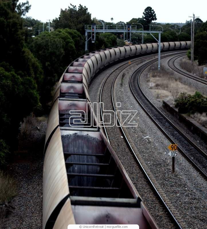Железнодорожные грузоперевозки.