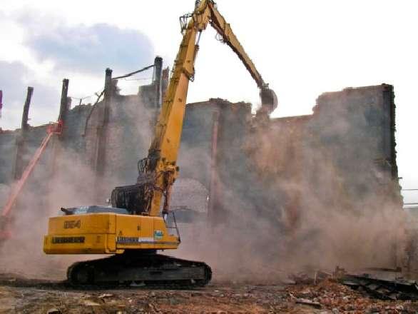 Заказать Демонтаж зданий