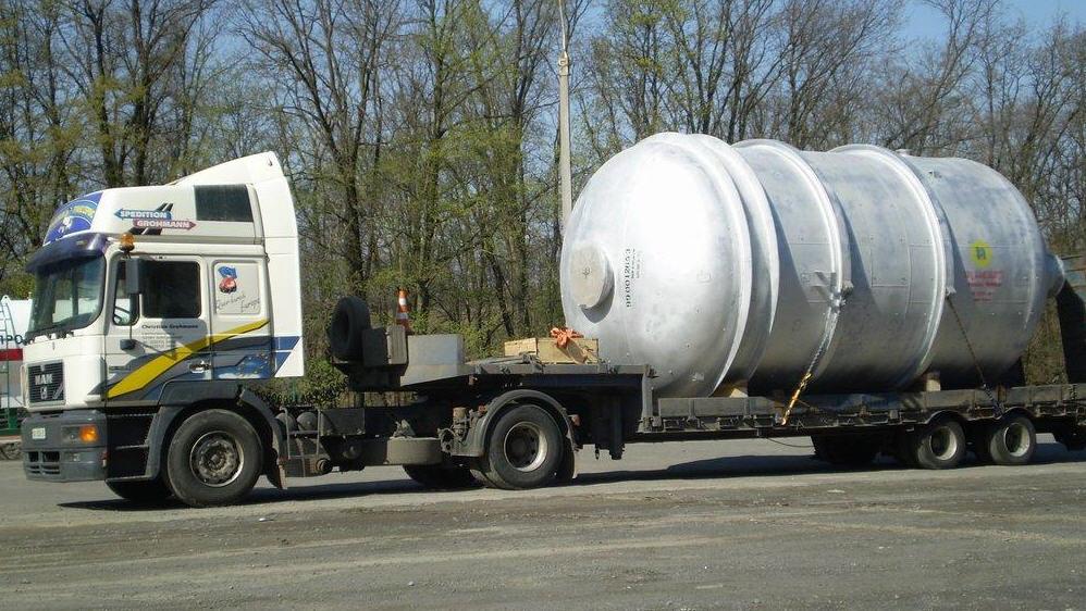 Заказать Перевозка тяжеловесных грузов