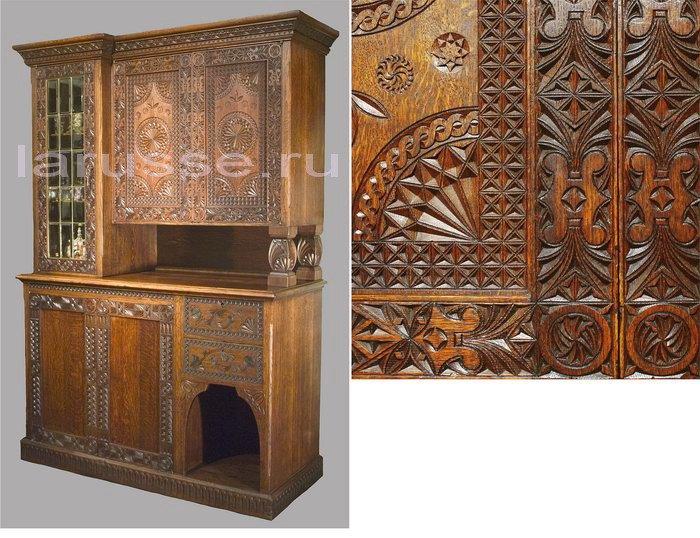 Заказать Ремонт антикварной мебели и восстановление резных резных элементов.