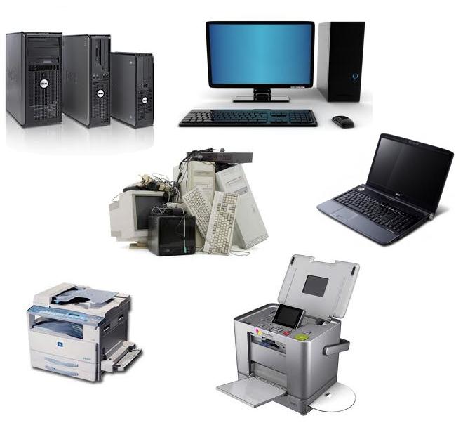 Заказать Утилизация оргтехники и электронной техники
