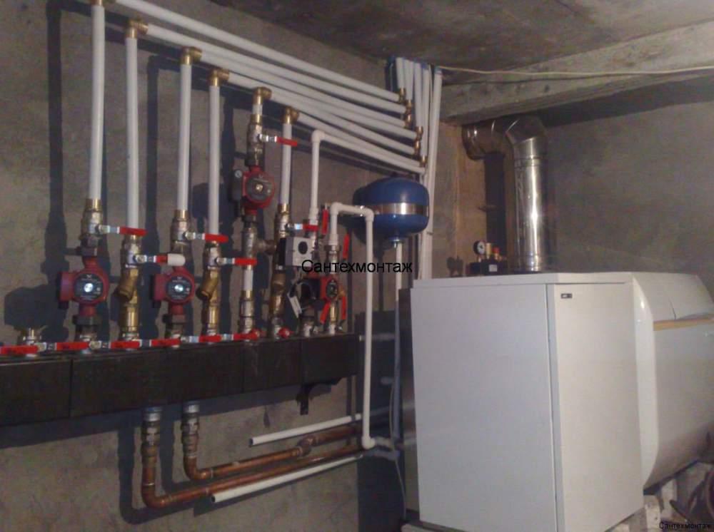 Установка системы автономного газоснабжения , Украина