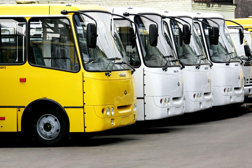 Заказать Контроль автобусных парков