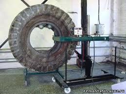 Заказать Ремонт крупногабаритных шин