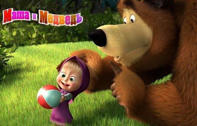 """Заказать Сценарий детского дня рождения - НОВОЕ! """"МАША И МЕДВЕДЬ"""" (Маша и ростовая кукла Медведь) (3-15 лет) НОВОЕ!"""