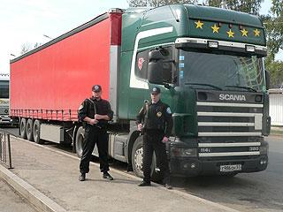 Заказать Охрана грузов