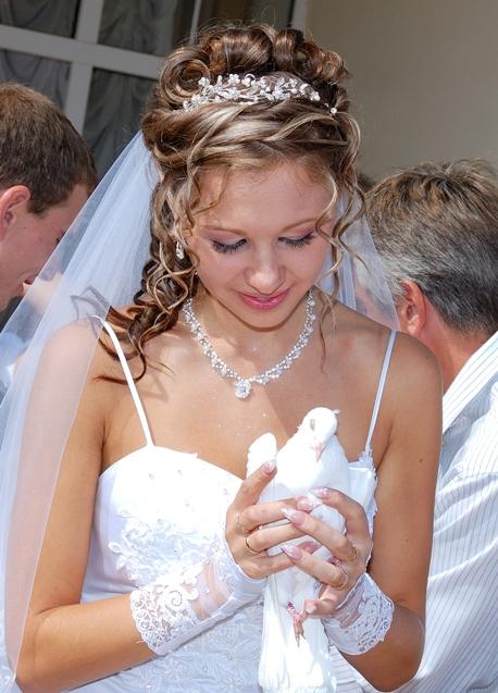 свадебные прически киев цены фото