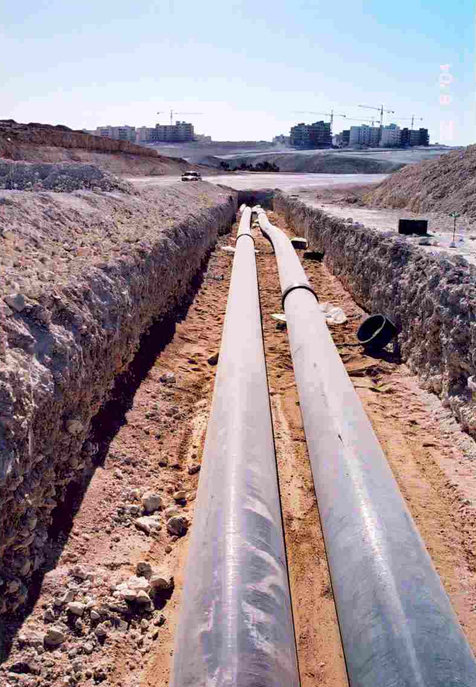 Магистральные сети водоснабжения.