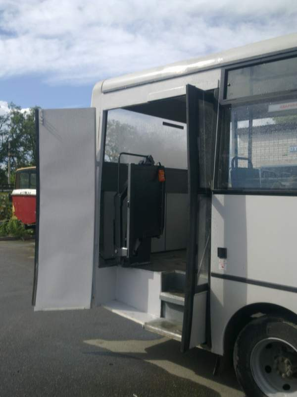 Заказать Переоборудование автобусов для перевозки инвалидов!
