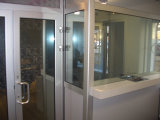 Order Delivery and installation of all-glass partitions
