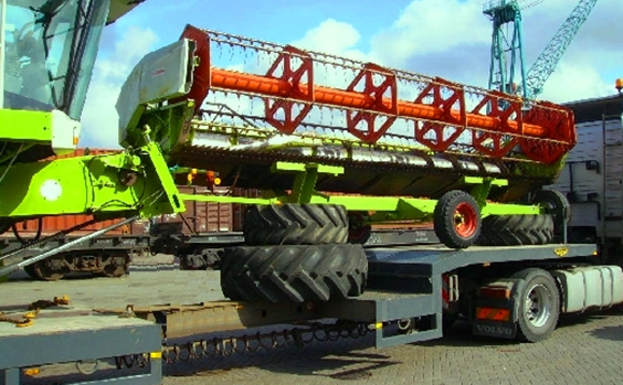 Заказать Доставка грузовой, специализированной и сельскохозяйственной техники из стран Европы.