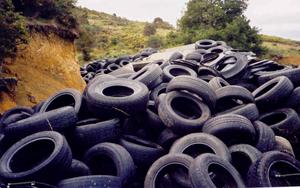 Утилизация шин цена в Украине. (Также утилизация изношенных шин, макулатура, стеклобоя, отходы полимерные, отходы резиновые).