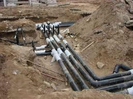 Заказать Прокладка наружных и внутренних сетей канализации
