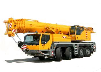 Услуги автокрана LIEBHERR LTM 1090 (90т)