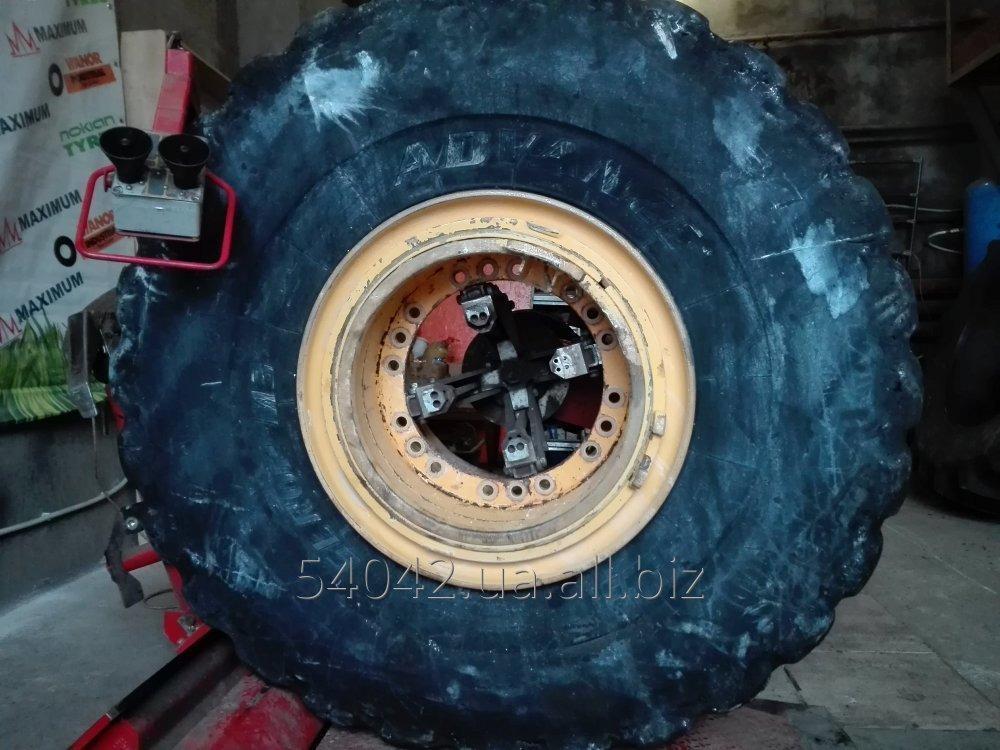 Заказать Ремонт шин для крупногабаритной промышленной, карьерной, и дорожностроительной техники.