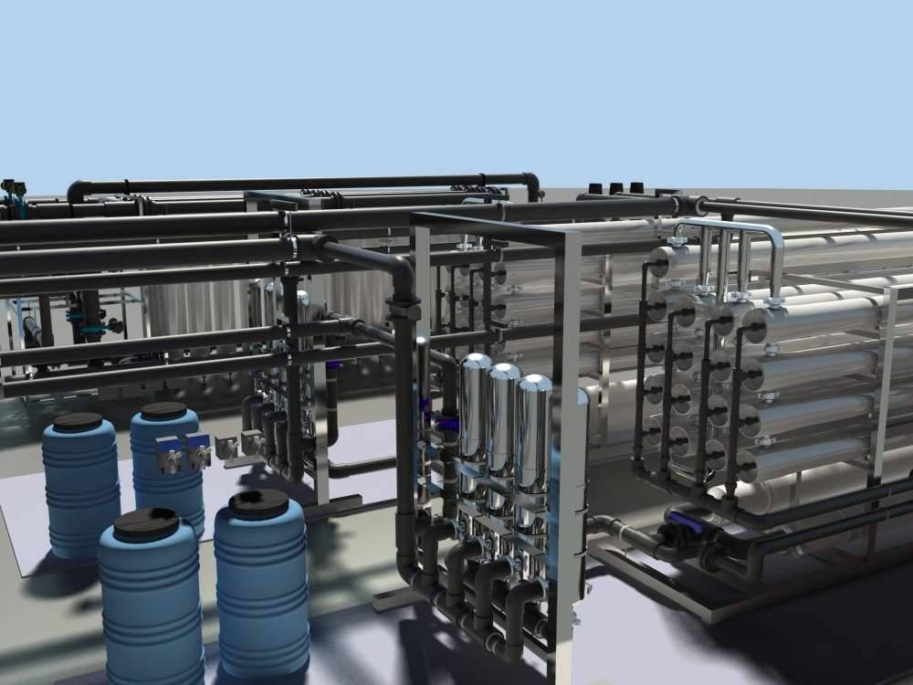 Заказать Мембранные установки очистки воды