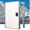 Установка распашных, откатных холодильных дверей