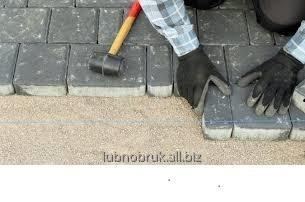 Заказать Укладка тротуарной плитки