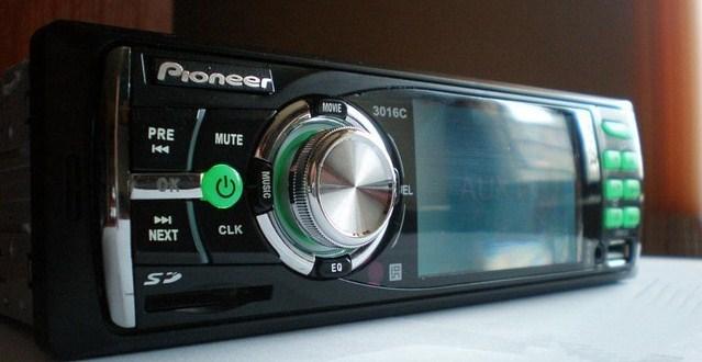 Заказать Автомагнитола Pioneer 3016C с LCD 3''