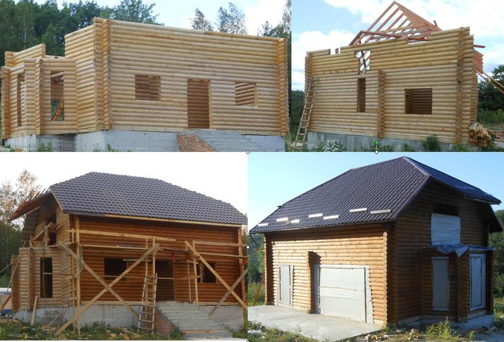 Заказать Строительство деревянных срубов