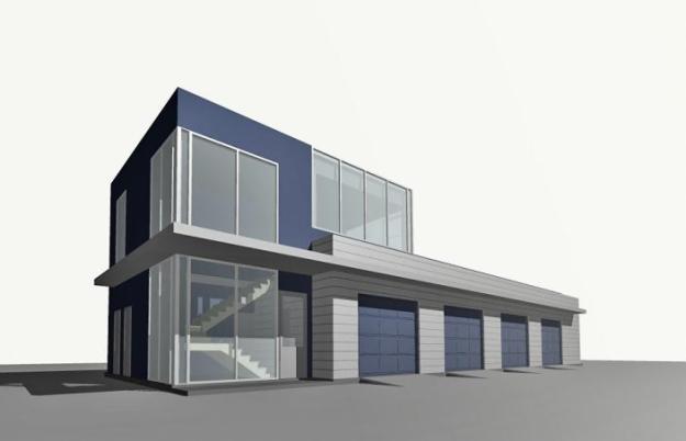 Заказать Проектирование зданий и сооружений техобслуживания. Строительство быстровозводимых зданий из металлоконструкций, с использованием термопрофилей и ЛСТК.