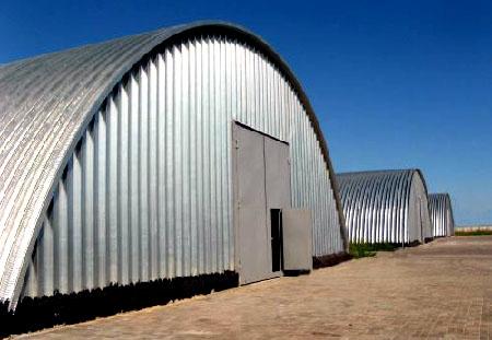 Заказать Строительство арочных сооружений с использованием термопрофилей и ЛСТК.