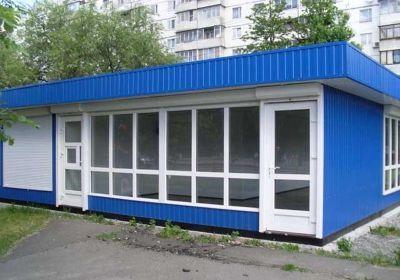 Заказать Строительство торговых павильонов из металлоконструкций, с использованием термопрофилей и ЛСТК.