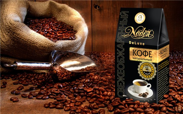 Order Coffee beans, coffee of espresso, coffee for vending, Kiev