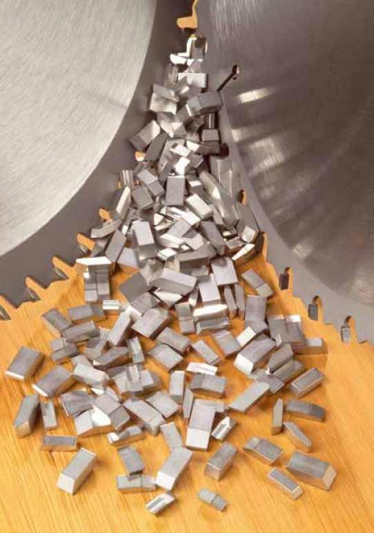 Заказать Твердосплавные напайки на дисковые пилы ВК8, ВК15